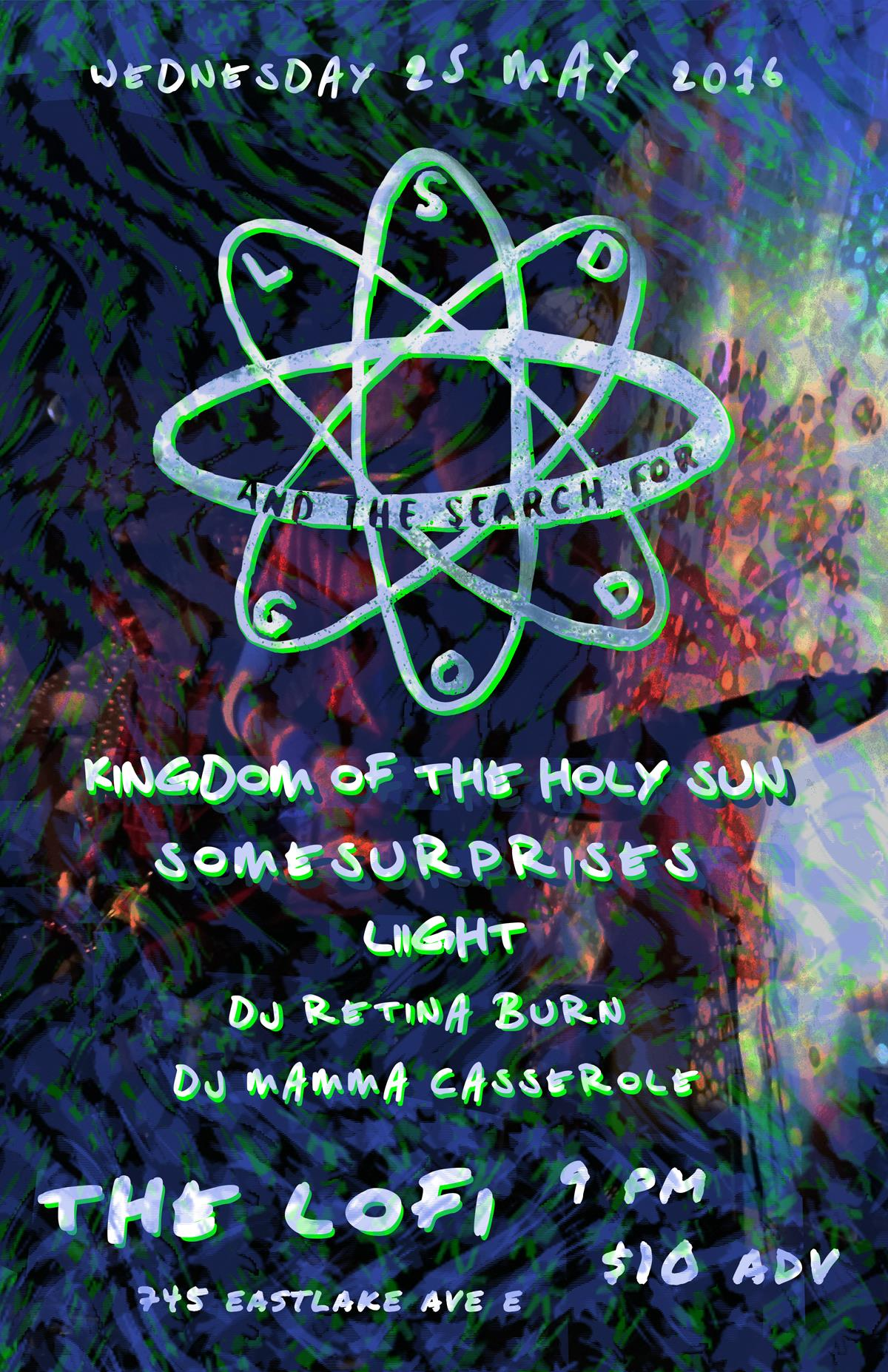 LSD and the Search For God, DJ Retina Burn - 25 May 2016